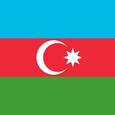 Azerbajdzsán flag