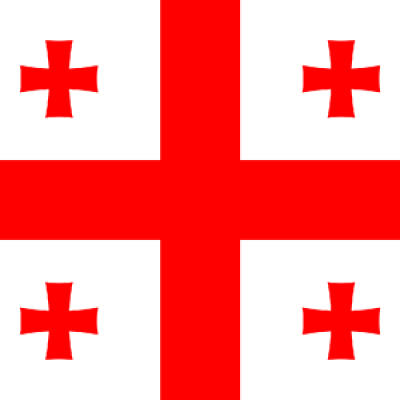 Grúzia flag